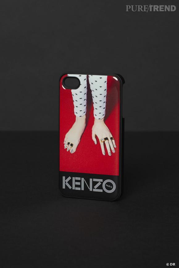 Coque iPhone Kenzo x Toiletpaper, 35 €