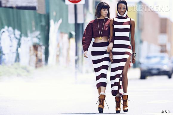 Lookbook collection Rihanna x River Island Automne-Hiver 2013/2014