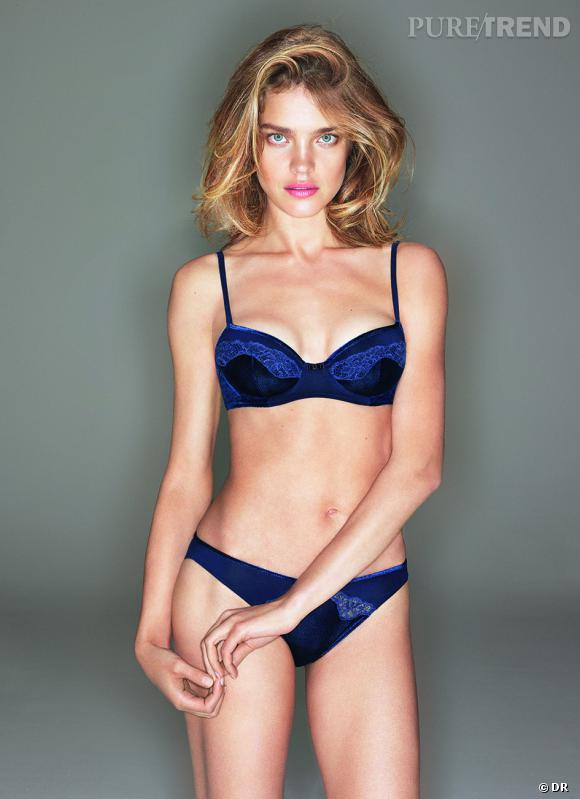 Collection Natalia de Natalia Vodianova x Etam Lingerie, 39,90 et 19,90 € le soutien-gorge et la culotte