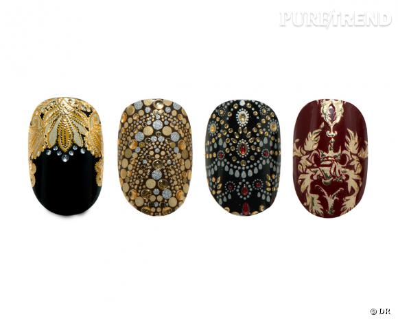 Collaboration beauté : nail patch Marchesa x Revlon