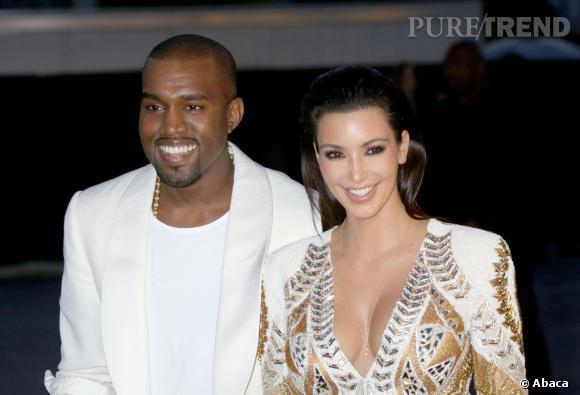 Kim Kardashian et Kanye West, une demande dans un stade.