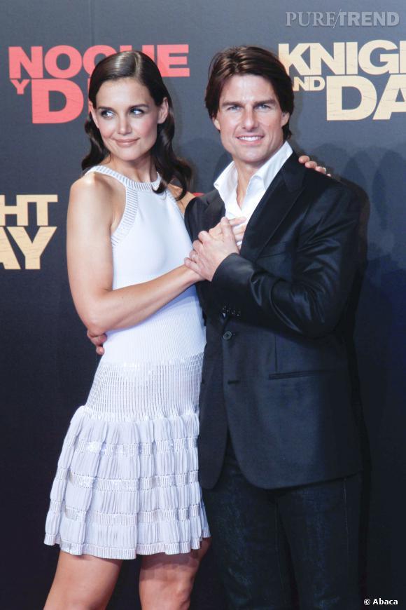 Katie Holmes et Tom Cruise, des fiançailles à Paris aussi.