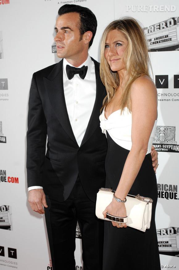 Jennifer Aniston et Justin Theroux, une demande comme cadeau d'anniversaire.