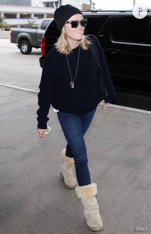 Reese Witherspoon à l'aéroport de Los Angeles.