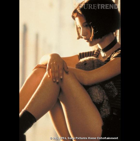 """Natalie Portman et son carré court dans """"Léon""""."""