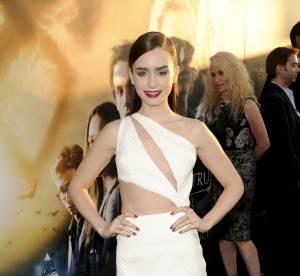 La robe sexy à découpes : atout des stars comme Lily Collins, à copier !