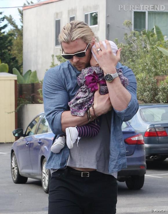 Chris Hemsworth est un papa poule.