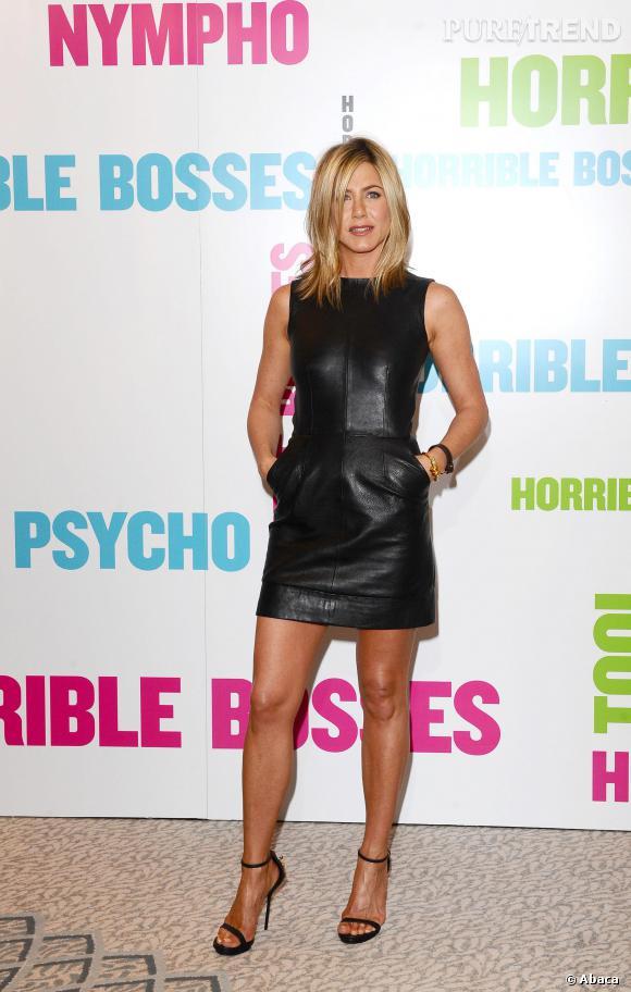 Jennifer Aniston et son modèle à poches.