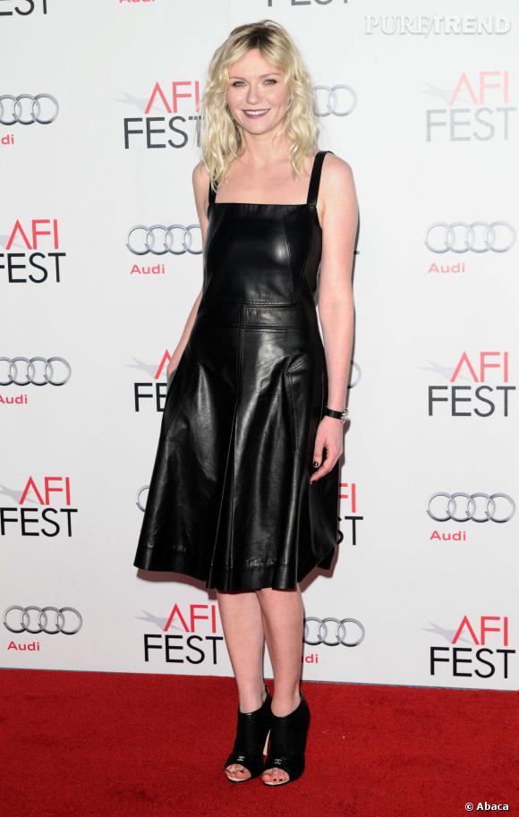 Kristen Dunst et sa robe tablier.
