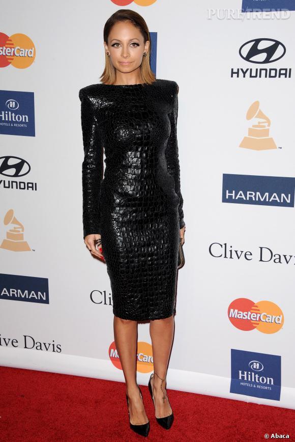 Nicole Richie et sa robe minimale.