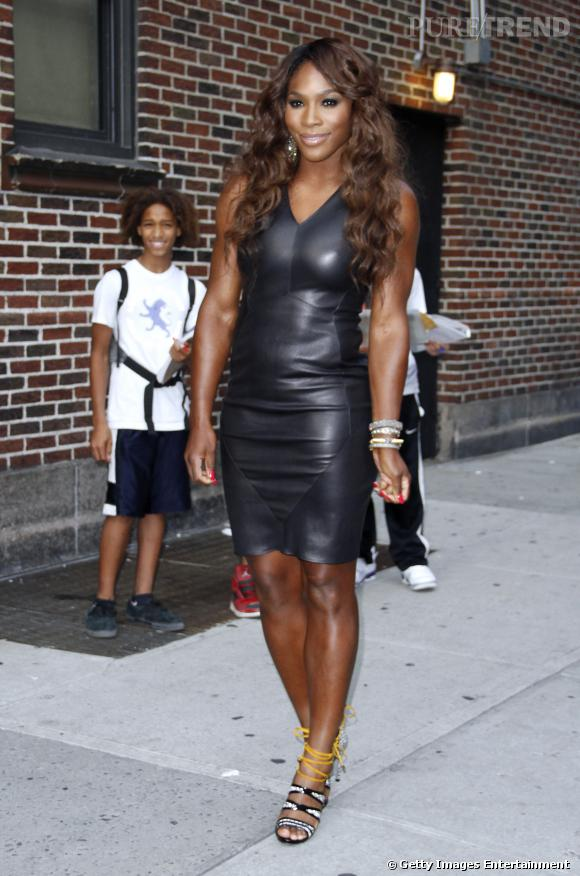 Serena Williams super-héroïne.