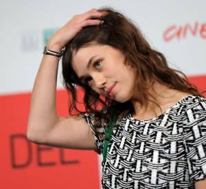 """Astrid Bergès-Frisbey lors du Festival du film international de Rome, pour présenter """"Juliette""""."""