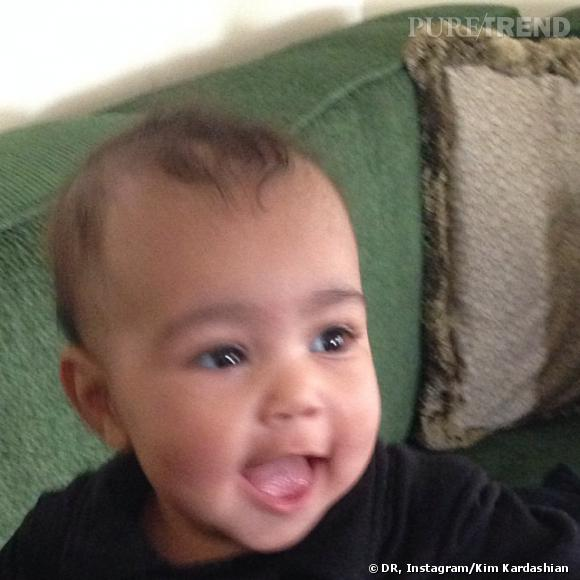 North West souriante sur le compte Instagram de sa maman !