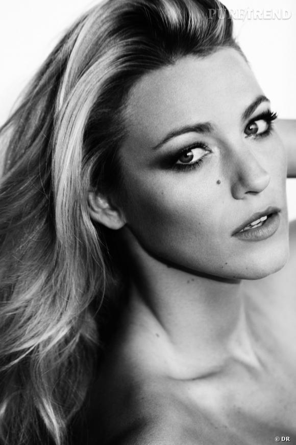 Blake Lively, sublime nouvelle égérie de L'Oréal Paris.