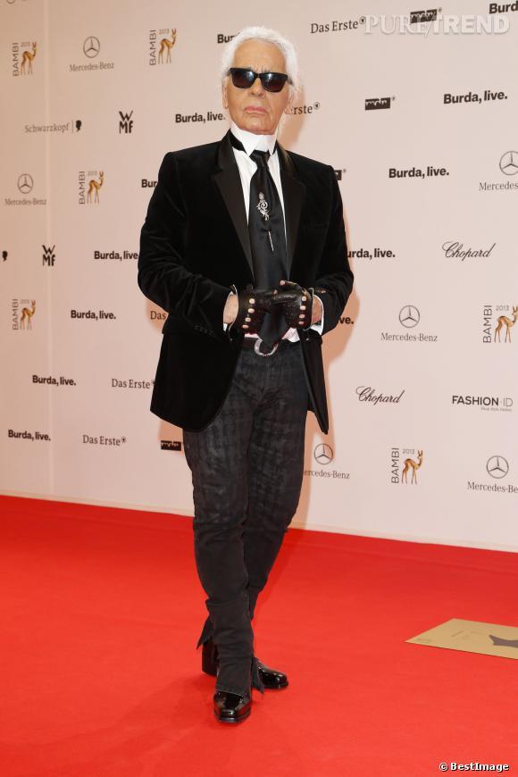 Sans oublier évidemment, Monsieur Karl Lagerfeld.