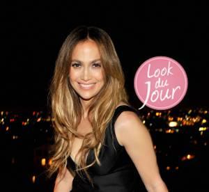 Jennifer Lopez en 2 looks : diva pailletée et oiseau de nuit sexy après les AMAs