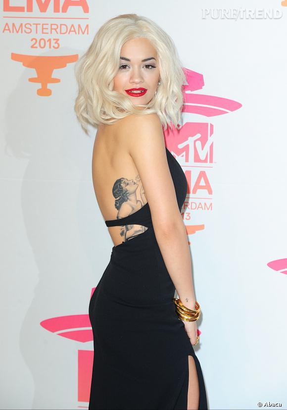 """Rita Ora sera Mia Grey, la soeur de Christian, dans """"50 nuances de Grey""""."""