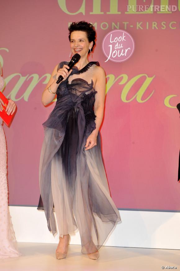 "Juliette Binoche au ""Mon Chérie Barbara Day"" à Muniche le 4 décembre 2013."