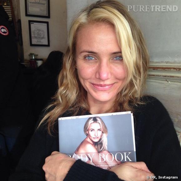 Cameron Diaz a très vite adopté la tendance du selfie et mieux : la tendance du no-makeup !
