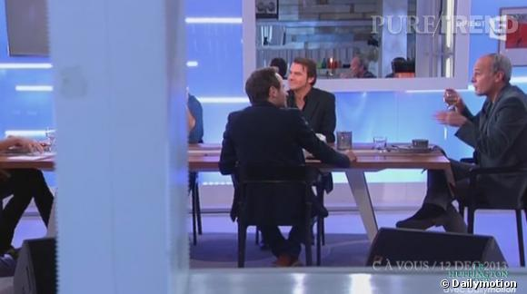 """Laurent Baffie clashe Jérémy Michalak, chroniqueur de """"C à vous"""" en plein direct sur France 5."""