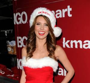 Do : Audrina Patridge joue les Mères Noël sans trop en faire, on dit bravo !