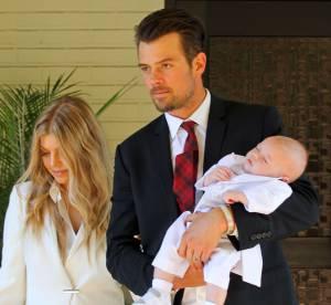 Fergie baptise son fils : Axl encore plus mignon que le prince George !