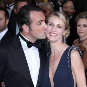 """Rencontrés sur le tournage de la mini série """"Un gars, une fille"""", Alexandra Lamy et Jean Dujardin s'étaient mariés en 2009."""