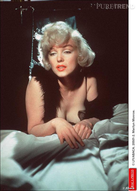 Marilyn Monroe, habituée des photos glamour.