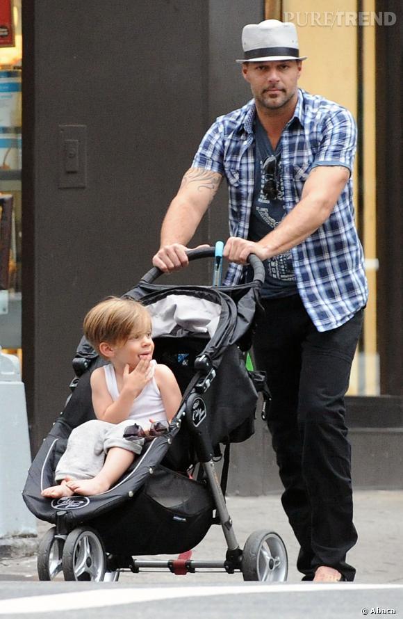 Ricky Martin intègre le clan des pères célibataires et célèbres.