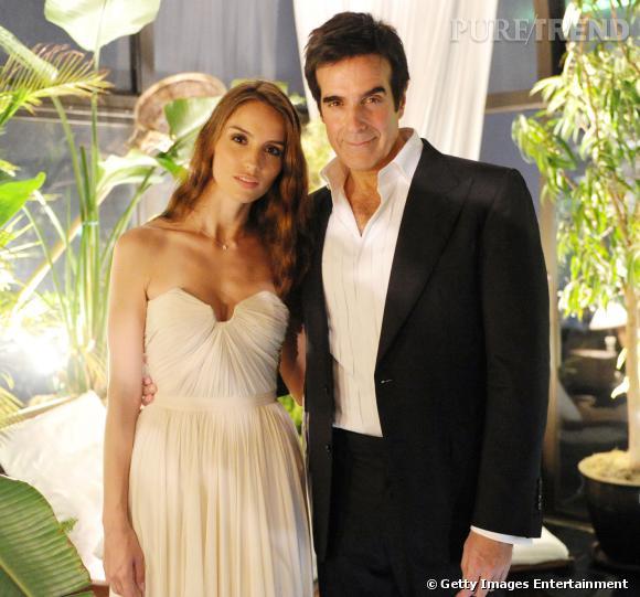 Chloé Gosselin et David Copperfield sont tout juste fiancés.
