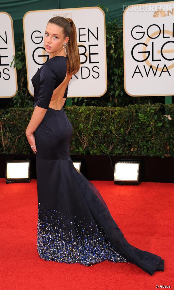 Adele Exarchopoulos à la cérémonie des Golden Globe 2014.