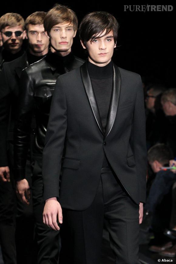 Alain-Fabien Delon a défilé pour Gucci à la Fashion Week de Milan, le 14 janvier dernier.