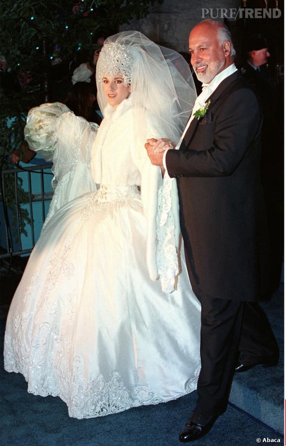 Céline Dion ne fait pas les choses à moitié quand elle se marie !