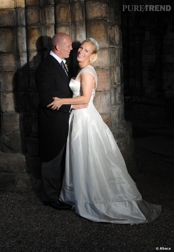 Zara Philips s'est mariée en robe Stewart Parvin en 2011.