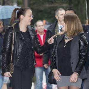 Pauline Ducruet très complice avec sa petite soeur Camille.