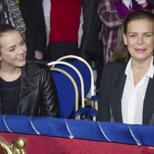 Pauline Ducruet aux côtés de sa mère.