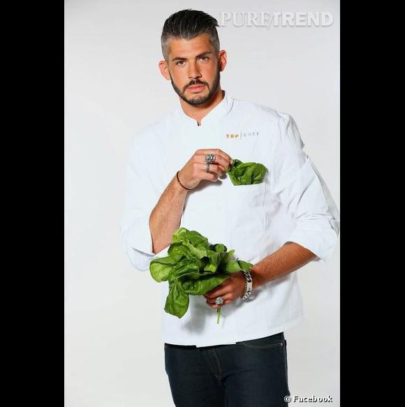 Jérémy Brun, au casting de Top Chef 2014.