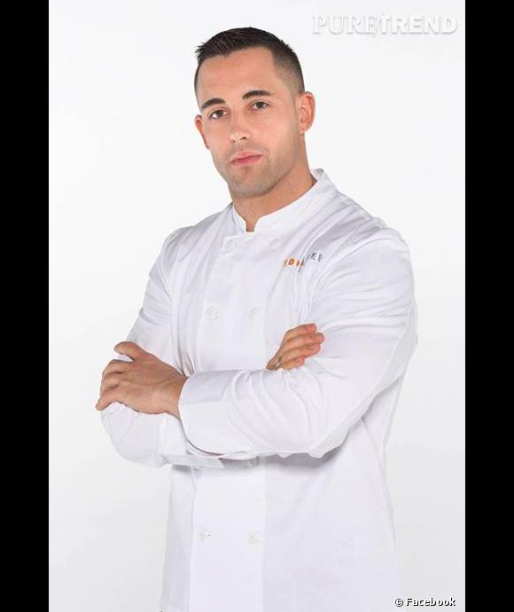 Valentin Neraudeau, le beau gosse musclé de Top Chef saison 4.