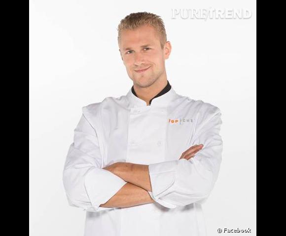 Joris Bijdendijk, beau gosse découvert l'année dernière dans Top Chef.