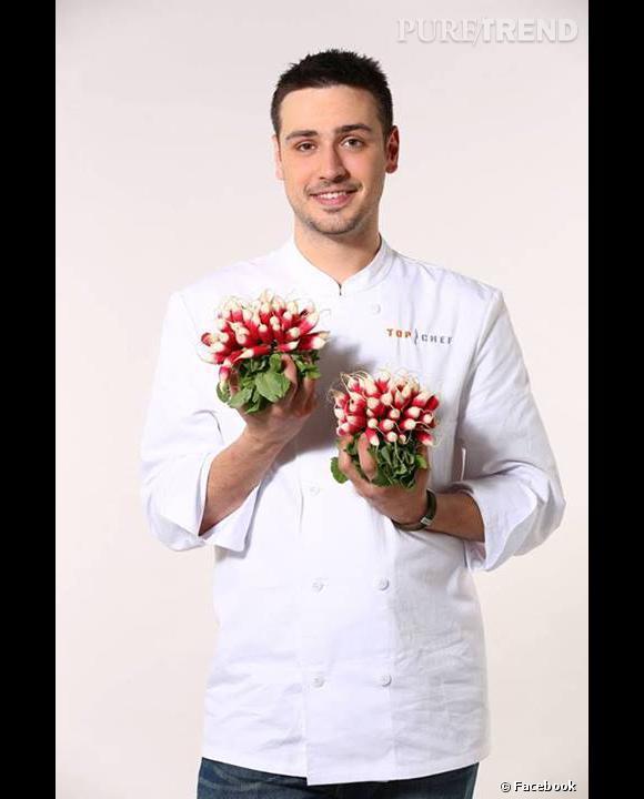 Quentin Bourdy, candidat des saisons 4 et 5 de Top Chef.