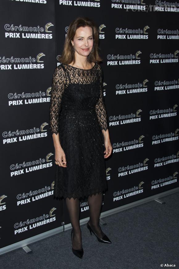 Carole Bouquet, superbe présidente des Prix Lumières 2014.