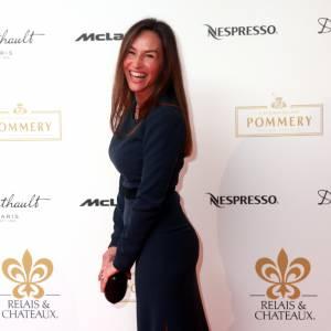 Vanessa Demouy , star des tapis rouge.