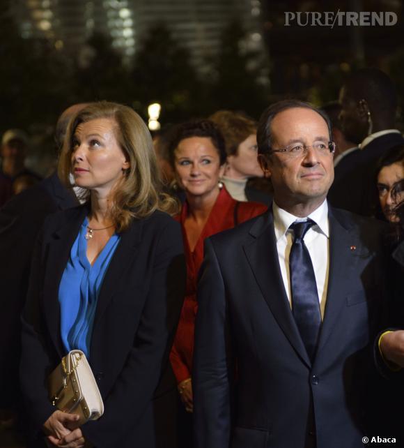 Valérie Trierweiler et François Hollande, la fin d'une romance de huit ans.