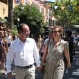 Valérie Trierweiler et François Hollande en vacances.