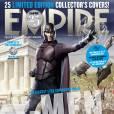Magneto jeune (Michael Fassbender) en couverture de Empire.