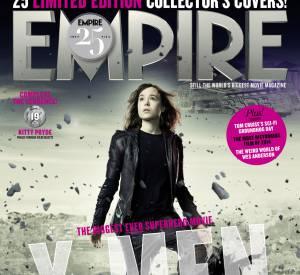 """Ellen Page en couverture d'Empire pour """"X-Men : Days of Future Past""""."""
