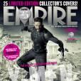 """Le Wolverine du futur (Hugh Jackman) sur la couverture Empire pour """"X-Men : Days of Future Past""""."""