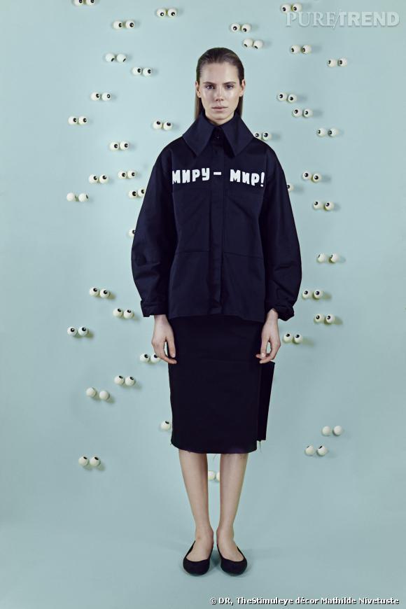 Yulia Yefimtchuk : Ukraine, Collection Femme.