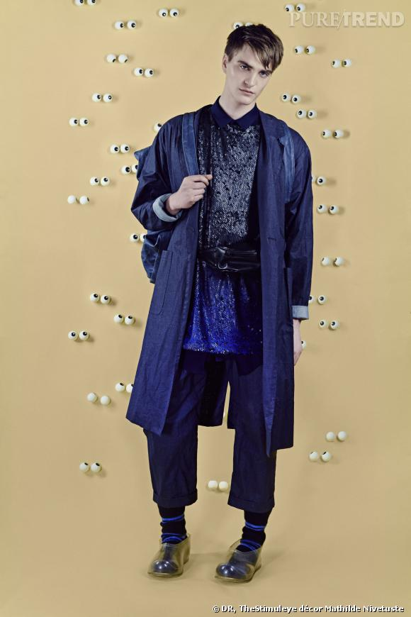 Agnese Narnicka : Lettonie, Collection Homme.