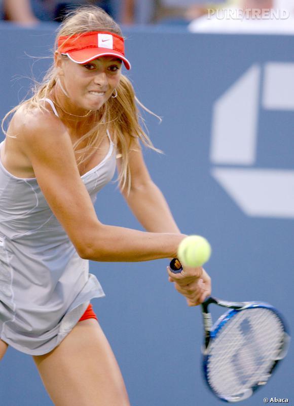 Maria Sharapova en 20 grimaces.